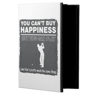 Can't Buy Happiness Play Golf iPad Air Cases