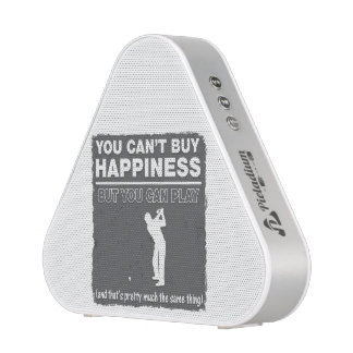 Can't Buy Happiness Play Golf Bluetooth Speaker