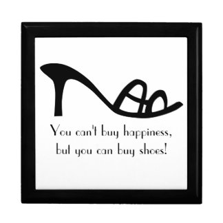 Can't Buy Happiness (Shoes) Keepsake Box
