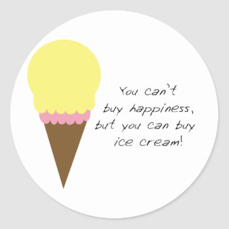 Can't Buy Happiness Sticker