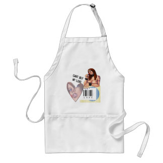 Cant Buy My Love - Standard Apron