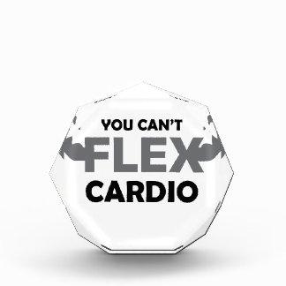 Can't Flex Cardio Acrylic Award