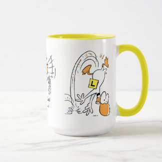 Can't Fly Without Coffee Aviation Joke Mug