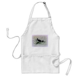 Can't Get Mad at Looking at a Penguin! Adult Apron