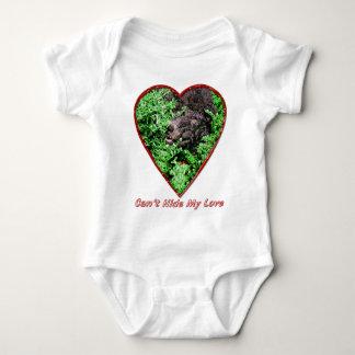 Can't Hide My Love Baby Bodysuit