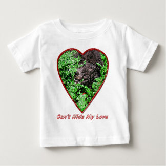 Can't Hide My Love Baby T-Shirt