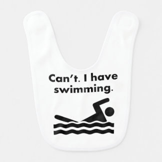 Can't I Have Swimming Bibs