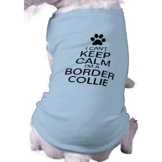 Can't Keep Calm Border Collie Dog Tee