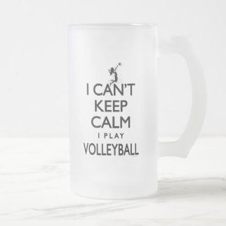 Can't Keep Calm Volleyball Mugs