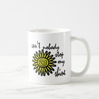 Can't Nobody Stop My Shine With Big Sun, Swirl Coffee Mug