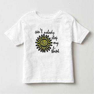 Can't Nobody Stop My Shine With Big Sun, Swirl Tee Shirt