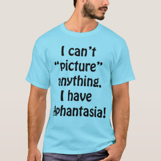 Can't picture anything T-Shirt