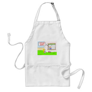 can't play being audited taxes adult apron