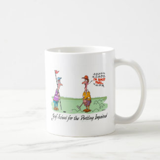 Can't Put - For the Putting Impaired Coffee Mug