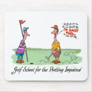 Can't Put - For the Putting Impaired Mouse Pad