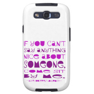 Can't Say Anything NIce Samsung Galaxy S3 Case