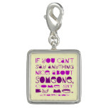 Cant Say Anything Nice Sit By Me Charm Bracelets