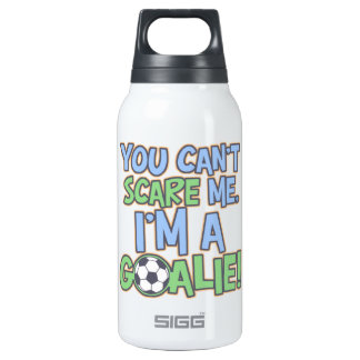 - Can't Scare Me Goalie 10 Oz Insulated SIGG Thermos Water Bottle