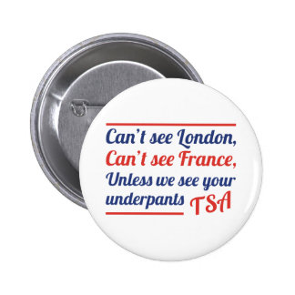 Can't See London Button