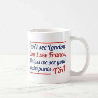 Can't See London Classic White Coffee Mug