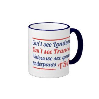 Can't See London Ringer Coffee Mug