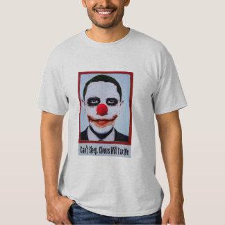 Can't Sleep Obama Clown Tshirt