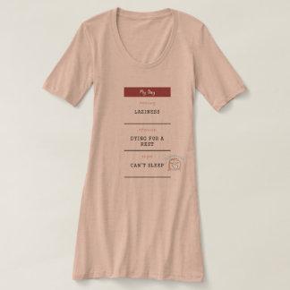 """Can't Sleep"" Women's Night Shirt"