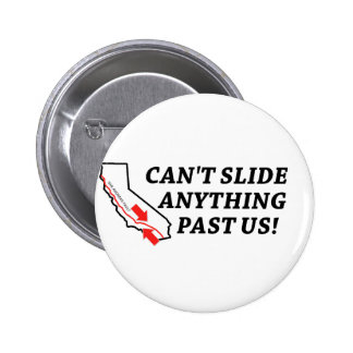 Can't Slide Anything Past Us! Pinback Button