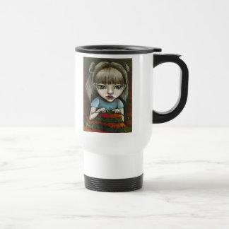 can't stop knitting coffee mug