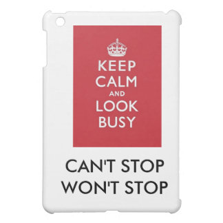 CAN'T STOP/WON'T STOP STAY CALM I-PAD CASE iPad MINI COVER
