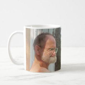 Can't take him anywhere! coffee mug