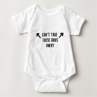 Can't Take These Guns Away Baby Bodysuit