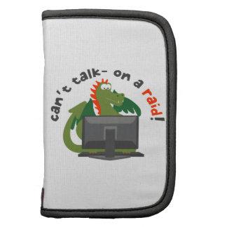 Can't Talk - On A Raid! Folio Planner
