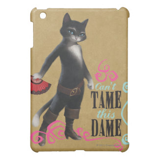 Can't Tame This Dame (color) Cover For The iPad Mini