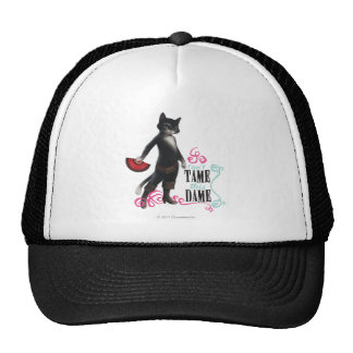 Can't Tame This Dame (color) Mesh Hat