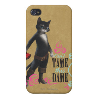 Can't Tame This Dame (color) iPhone 4 Cover
