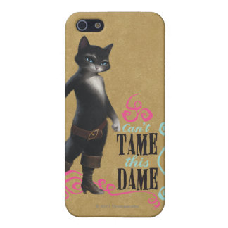 Can't Tame This Dame (color) iPhone SE/5/5s Cover