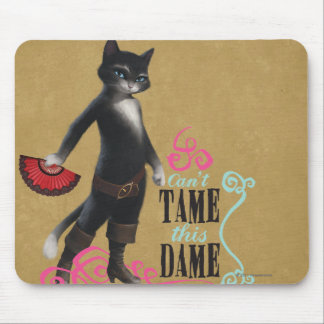 Can't Tame This Dame (color) Mouse Pad