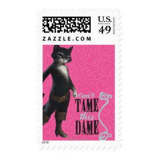 Can't Tame This Dame (color) Postage