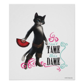 Can't Tame This Dame (color) Poster