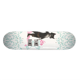 Can't Tame This Dame (color) Skate Decks