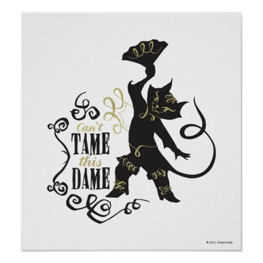Can't Tame This Dame Poster