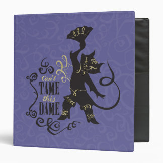 Can't Tame This Dame Vinyl Binder
