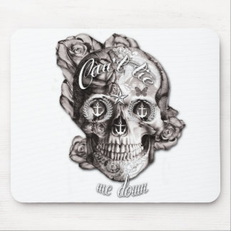 Can't Tie me Down, Nautical Skull. Mouse Pad