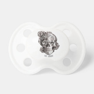 Can't Tie me Down, Nautical Skull. Pacifier