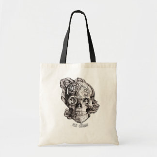 Can't Tie me Down, Nautical Skull. Tote Bag