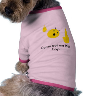 Can't touch this doggie tee shirt