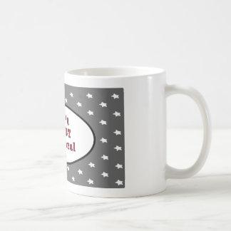 Can't TRUST a Liberal Silver Stars The MUSEUM Zazz Coffee Mug
