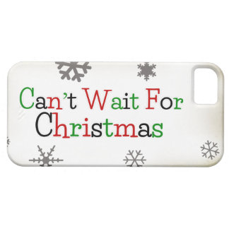 Can't Wait For Christmas iPhone SE/5/5s Case