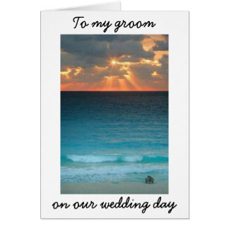 CAN'T WAIT TO SPENT MY LIFE WITH YOU-WEDS CARD